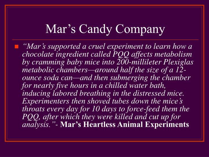 Mar's Candy Company