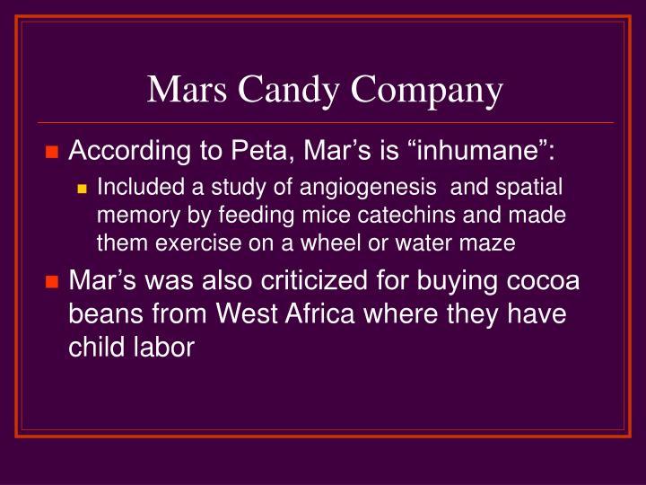 Mars Candy Company