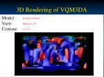 3d rendering of vqm3da