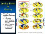 quality factor velocity