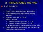 2 indicaciones ths 19971
