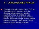 5 conclusiones finales