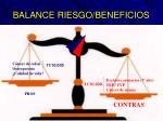balance riesgo beneficios1