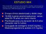 estudio whi