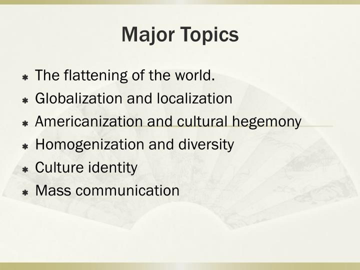 Ppt Globalization Of The Local Powerpoint Presentation Id4581742