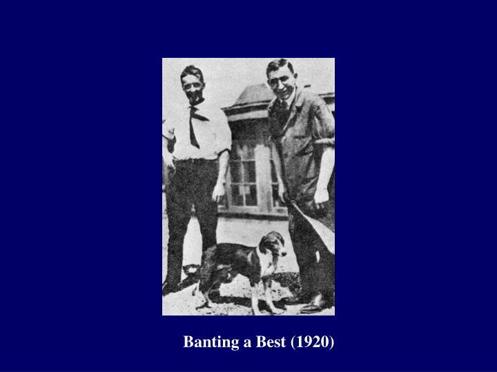 Banting a Best (1920)