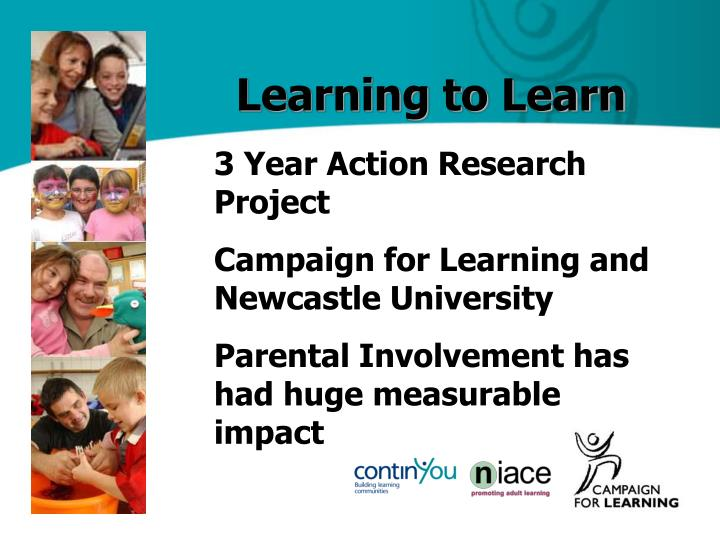action research on parental involvement Action research is a process in which participants examine their own educational practice systematically and carefully parental involvement in activities.