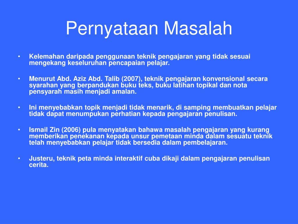 Ppt Kesan Penggunaan Peta Minda Interaktif Dalam Penulisan Cerita Powerpoint Presentation Id 4582118