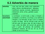 6 3 adverbis de manera