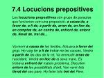 7 4 locucions prepositives
