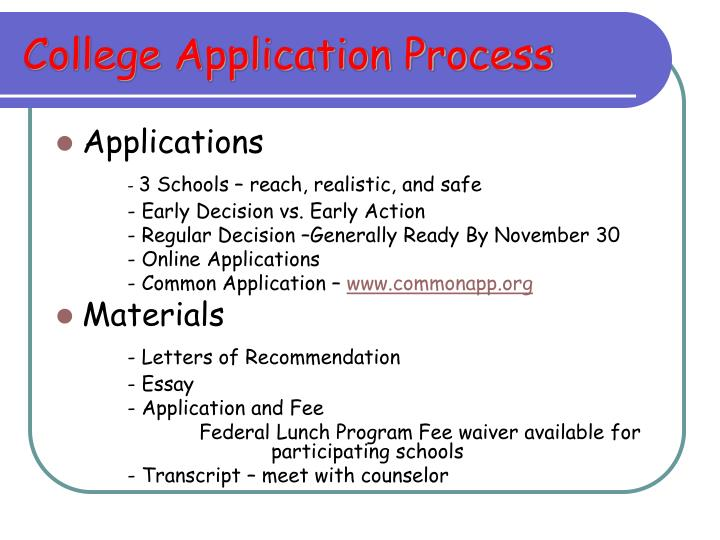 college application process 2 nacac guide to te college admission process about the author the guide to the college admission process is based on the original guide by steven c munger, former dean and college.