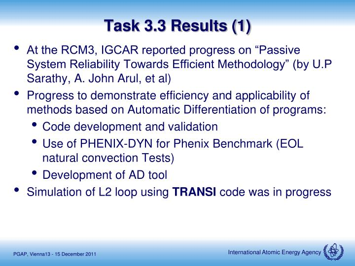 Task 3.3 Results (1)