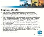 emphasis of matter