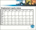 employment equity status