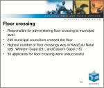 floor crossing