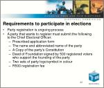 requirements to participate in elections