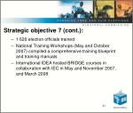 strategic objective 7 cont