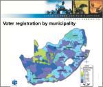 voter registration by municipality