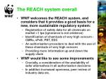 the reach system overall