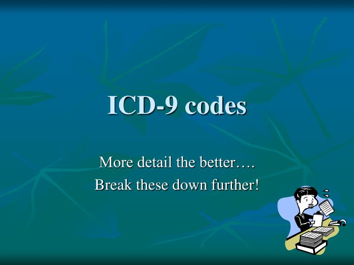ICD-9 codes