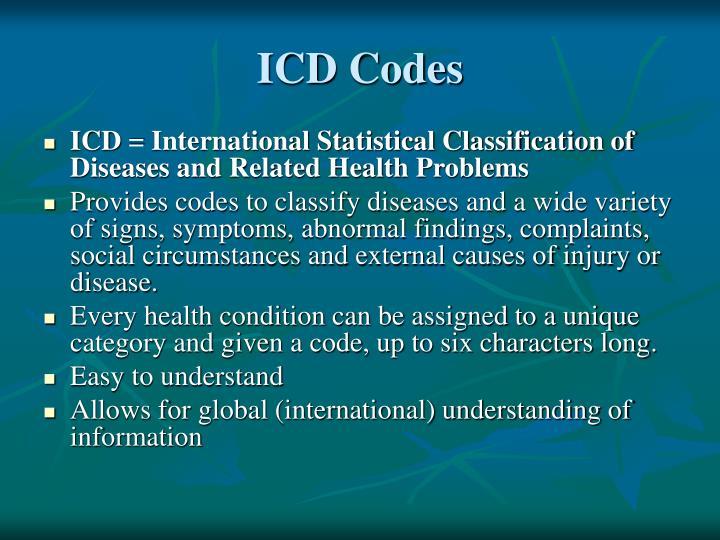 ICD Codes