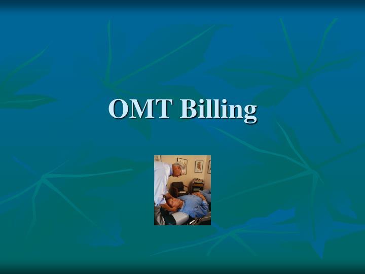 OMT Billing