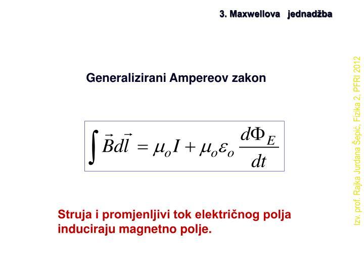 3. Maxwellova   jednadžba
