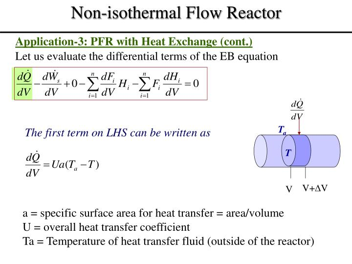Application-3: PFR with Heat Exchange (cont.)