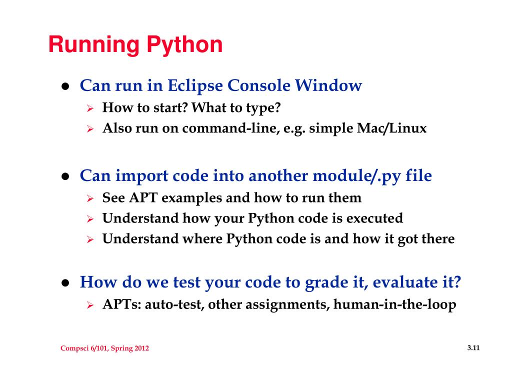 PPT - PFTW: Functions, Control, Python/Tools PowerPoint
