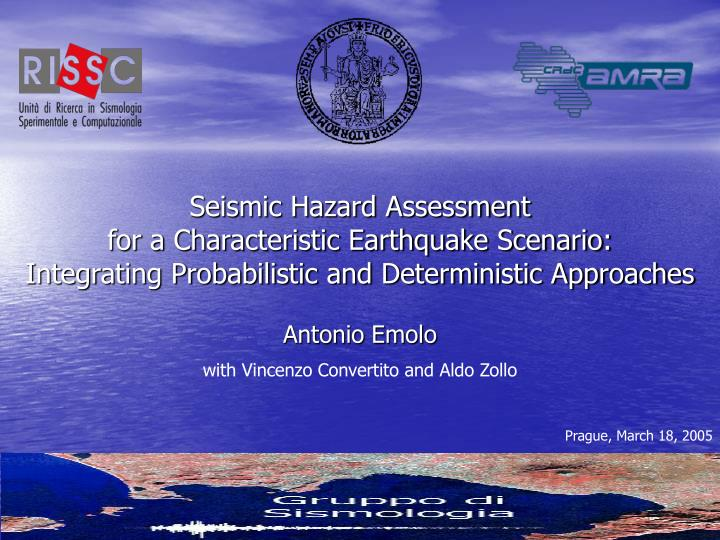 Seismic Hazard Assessment