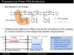 proposed low power pga architecture14