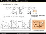 proposed low power pga architecture17