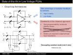 state of the art in low voltage pgas4
