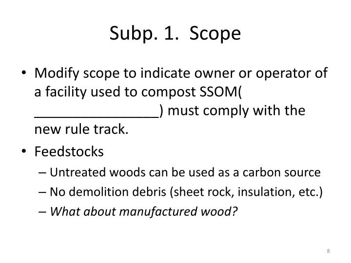 Subp. 1.  Scope