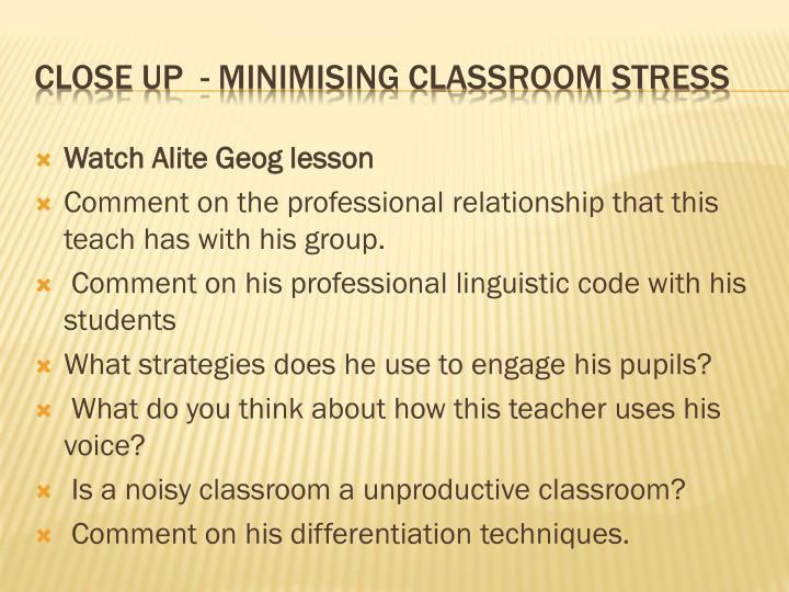 Watch Alite Geog lesson