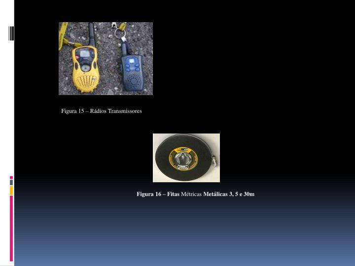Figura 15 – Rádios Transmissores