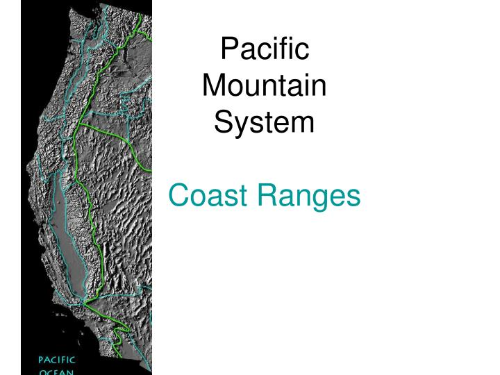 pacific mountain system coast ranges n.