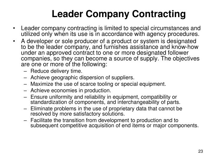 Leader Company Contracting