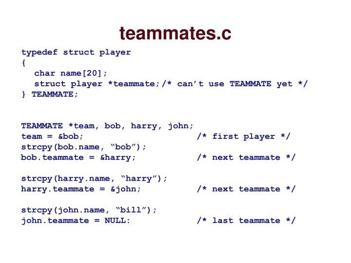 teammates.c