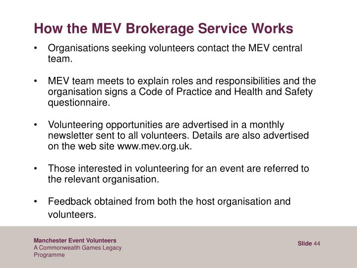 How the MEV Brokerage Service Works