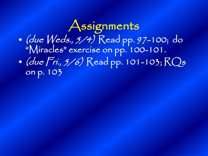 Assignments1