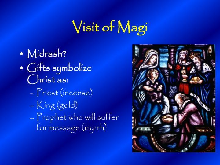 Visit of Magi