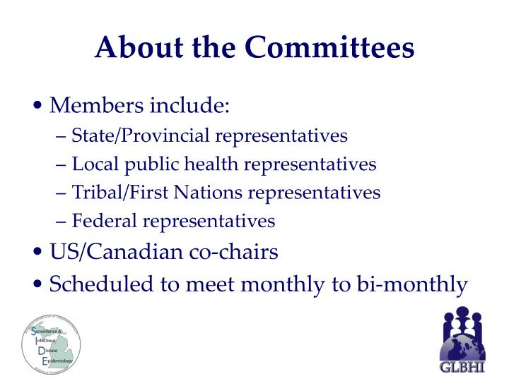 About the Committees