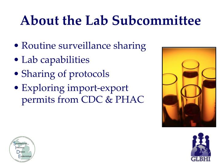 About the Lab Subcommittee