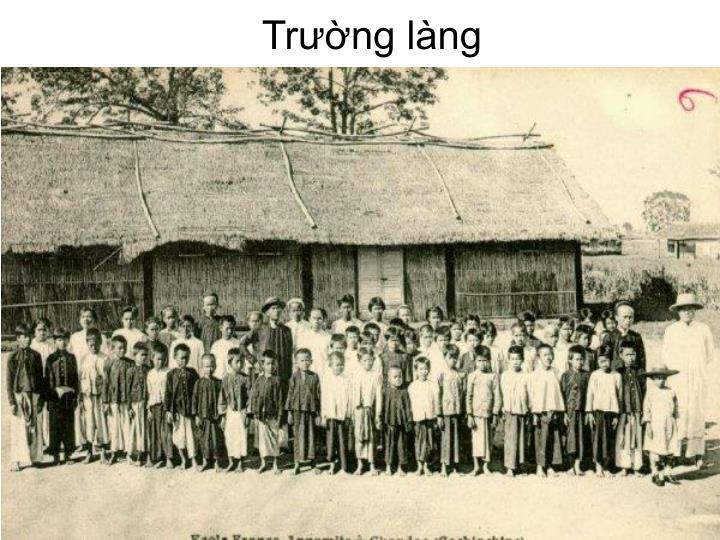 Trường làng