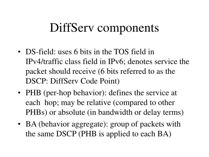 DiffServ components