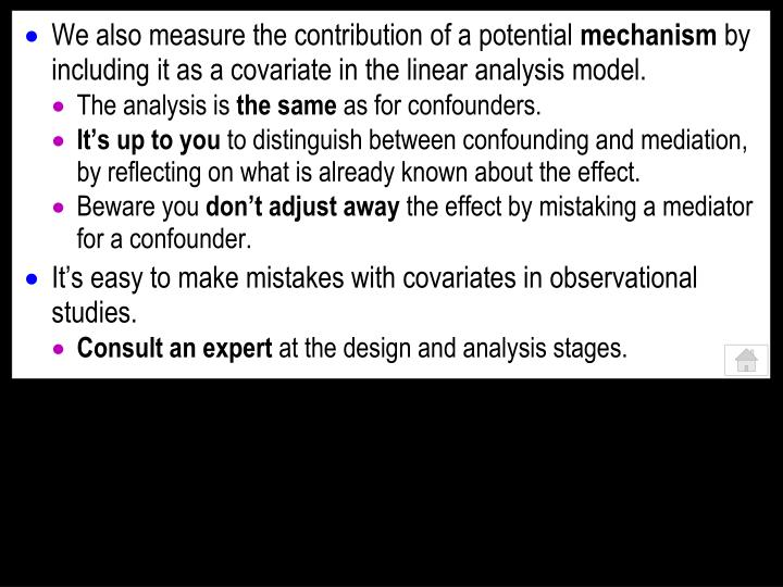 We also measure the contribution of a potential
