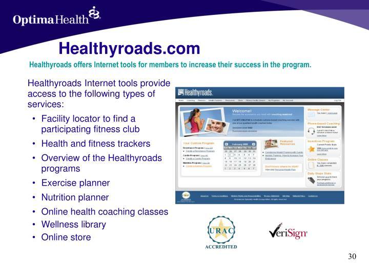 Healthyroads.com