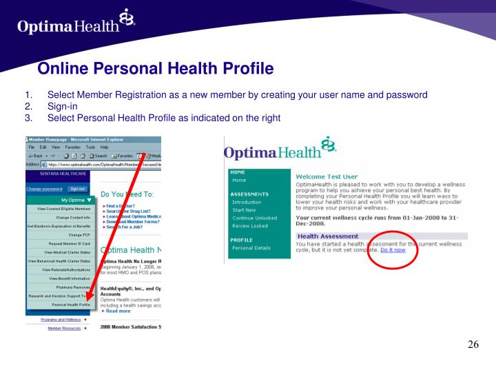 Select Member Registration as a new member by creating your user name and password