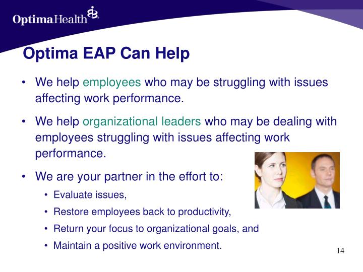 Optima EAP Can Help